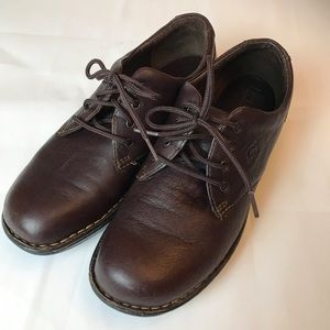 Born Lace Up Shoe Brown Leather 9.5